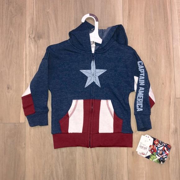Captain America toddler hoodie
